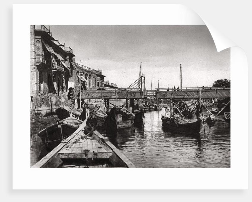 The Whiteley Bridge, Ashar Creek, Basra, Iraq by A Kerim