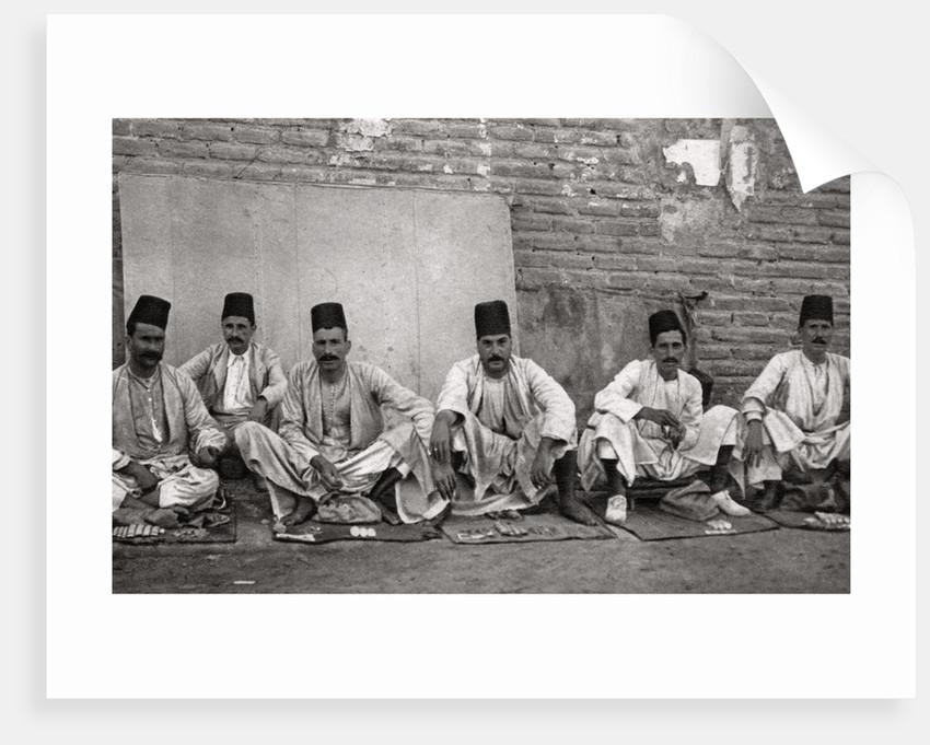 Turkish money changers, Baghdad, Iraq by A Kerim