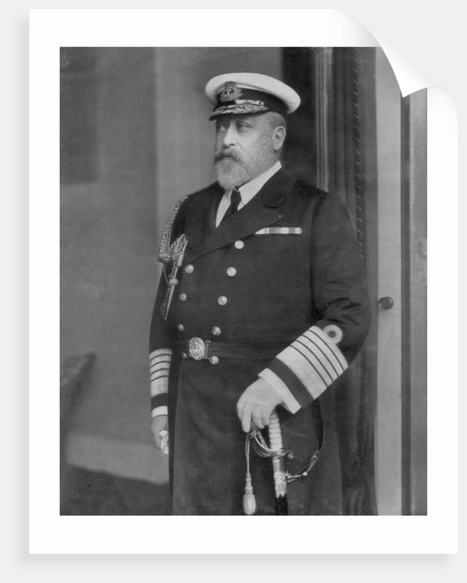 King Edward VII, as a Yachtsman by Anonymous