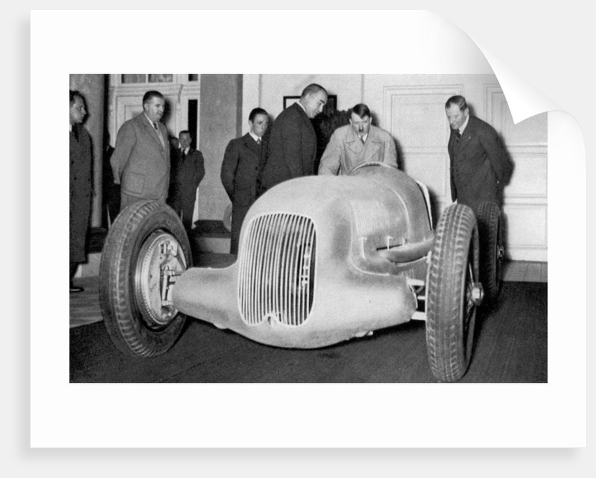'Mercedes Benz racing car built on suggestion of the Führer', Germany by Anonymous