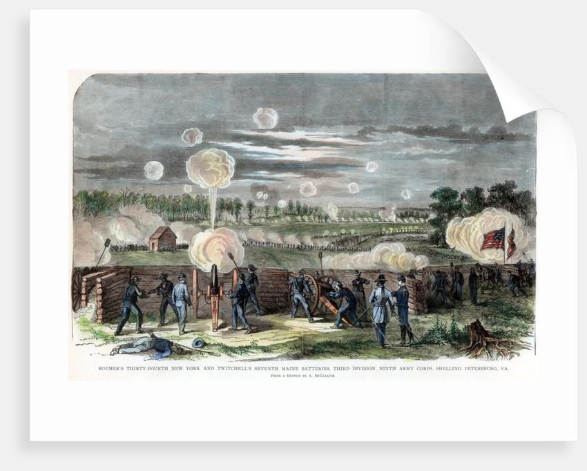Siege of Petersburg, Virginia, American Civil War by Anonymous