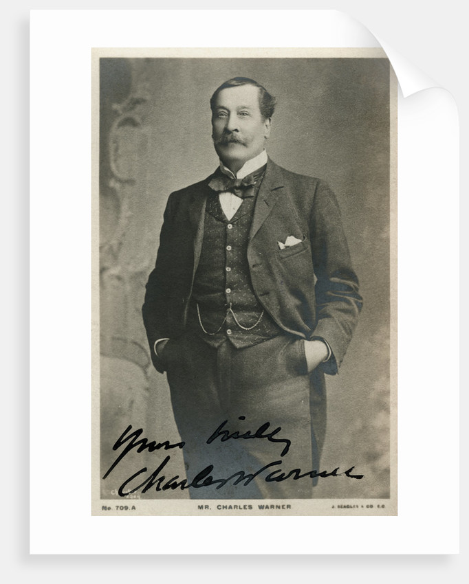 Charles Warner, English actor by Anonymous
