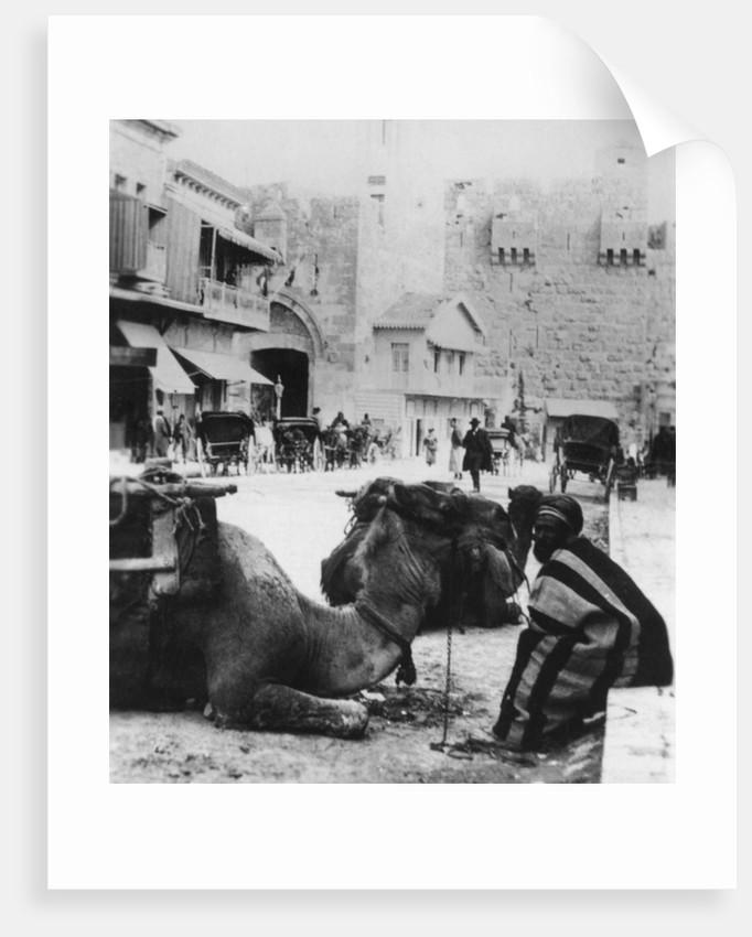 Near the Jaffa Gate, Jerusalem by Cavanders Ltd