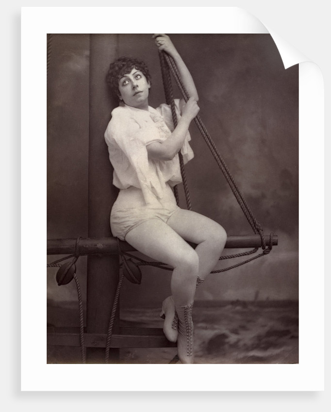 Fannie Leslie, British singer and actress by Anonymous