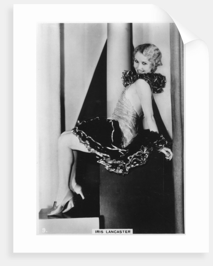 Iris Lancaster, actress by Anonymous