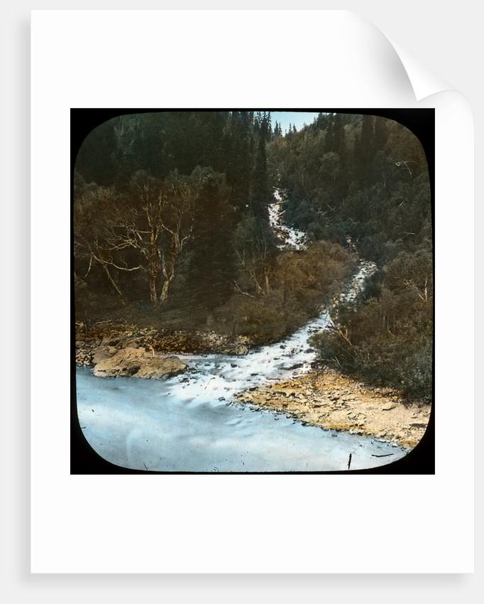 Cascade below Sonamarg, Kashmir, India by Anonymous