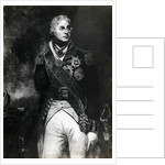 Horatio Nelson, 1st Viscount Nelson, English naval commander by Anonymous