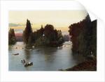 A lake in the Bois de Boulogne, Paris by Anonymous