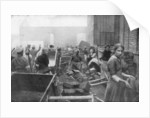 The inhabitants of Caudry come to seek food from the British Army, France by Anonymous