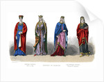 French costume: Capetian, Carlovingian by Anonymous