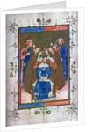 'Crowning of a King', from the Liber Regalis, Westminster Abbey by Anonymous