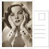 Katharine Hepburn, American actress by Anonymous