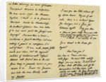 Letter from Charles Lamb to John Clare by Charles Lamb
