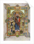 Portrait of St Mark or St Luke, 800 AD by Anonymous