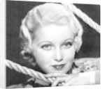 June Lang, American actress by Anonymous