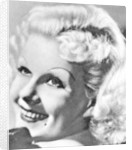 Jean Harlow, American actress by Anonymous