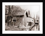 House on a canal bank, Broek, Netherlands by James Batkin
