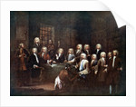 A Committee of the House of Commons at the Fleet Street Prison, London by Anonymous