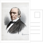 William Ewart Gladstone, British Liberal Party statesman and Prime Minister by Cassell