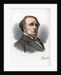 Richard Monckton Milnes, 1st Baron Houghton, English poet and politician by Cassell