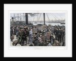 A Study from Life on Prince's Landing Stage, Liverpool by Anonymous