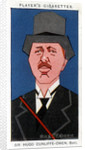 Sir Hugo Cunliffe-Owen, British businessman by Alick P F Ritchie