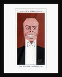George Grossmith Junior, British actor, manager and playwright by Alick P F Ritchie