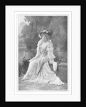 Marie Studholme, English theatre actress by Alfred Ellis & Walery
