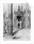 The Prince and Princess of Wales in King Theebaw's palace, Mandalay, Burma by Samuel Begg