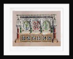 Stone and Marble Reredos by John Burley Waring