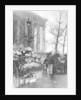 Flower market at the Madeleine, Paris by Ernest Flammarion