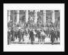 Bargaining outside the Stock Exchange, Paris by Ernest Flammarion