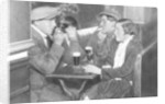 A foursome in a bal-musette, Paris by Ernest Flammarion