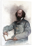 Alfred Lord Tennyson (1809-1892), English poet by Amedee Forestier