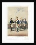 German military uniforms, 1740-1786 ((19th century) by W Korn