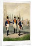 Grenadier guard battalion, 1786-1806 (19th century) by W Korn