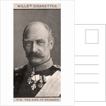 H.M The King of Denmark by WD & HO Wills
