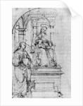 Nicolas De Tolentino by Raphael