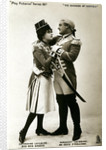 Evie Greene and Denis O'Sullivan in a scene from The Duchess of Dantzig by Raphael Tuck