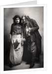 Constance Collier (1878-1955) and Herbert Beerbohm Tree (1853-1917), English actors by FW Burford