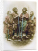 Group of Ainu people, Japan by Felice Beato