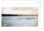 A Trial Spin of the Cornell Crews on Cayuga Lake by Anonymous