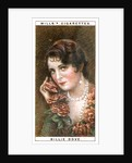 Billie Dove (1903-1997), American actress by WD & HO Wills
