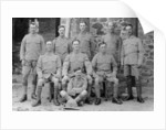 Soldiers from the 5th East Surrey regiment, Chakrata, India by Anonymous