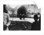 Entrance of Baghdad bazaar, Mesopotamia, WWI by Anonymous
