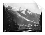 Mont Blanc from Switzerland by John L Stoddard