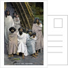 Group of Todas, Ootacamund, South Indian state of Tamil Nadu by Anonymous