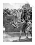 The ordeal of cold water by Richard Caton Woodville II