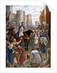 William Rufus at the Tower of London by Charles Goldsborough Anderson