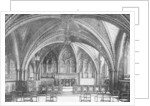 The Crypt Chapel, Westminster by Anonymous